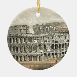 ローマのコロシアムのヴィンテージの芸術 セラミックオーナメント