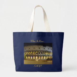 ローマのコロシアム ラージトートバッグ