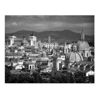 ローマのスカイラインの郵便はがき ポストカード