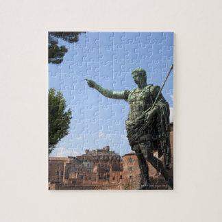 ローマのフォーラムの近くのローマ皇帝の彫像 ジグソーパズル