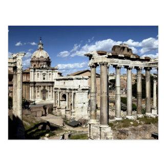 ローマのフォーラム、ローマ、イタリア ポストカード