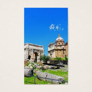 ローマのフォーラム 名刺