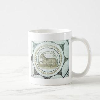 ローマのモザイク コーヒーマグカップ