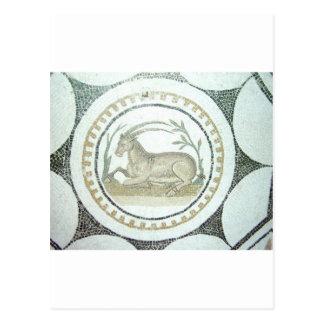 ローマのモザイク ポストカード