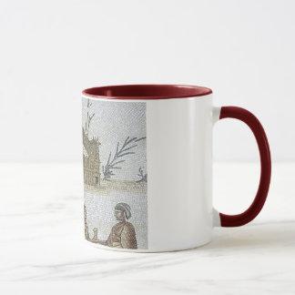 ローマのモザイク マグカップ