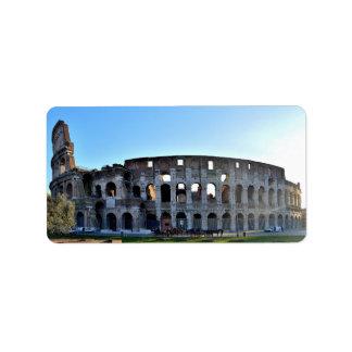 ローマのラベル ラベル