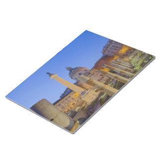 ローマのローマのフォーラム ノートパッド