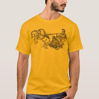 ローマの一人乗り二輪馬車 Tシャツ