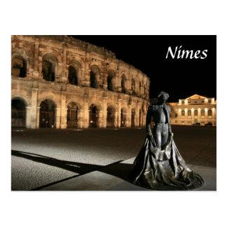 ローマの円形競技場ニーム ポストカード
