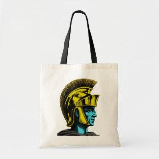 ローマの剣闘士のポップアートのポートレート トートバッグ