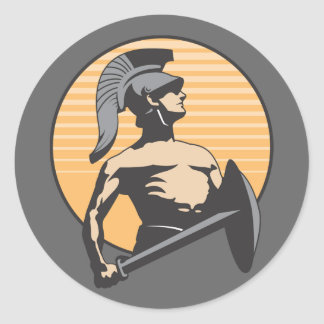 ローマの剣闘士 ラウンドシール
