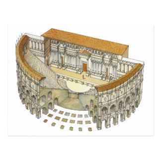ローマの劇場 ポストカード