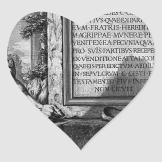 ローマの古さ、t. 3のプレートXLIII。 ナット… ハートシール