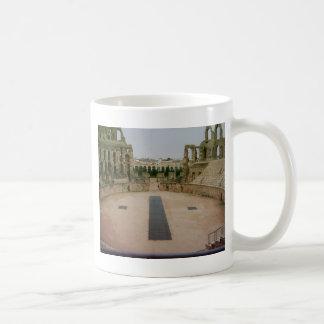 ローマの台なしチュニジア コーヒーマグカップ