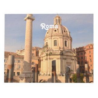ローマの台なし ノートパッド