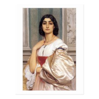ローマの女性- Frederick Leighton主 ポストカード