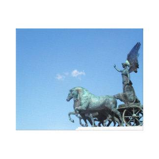ローマの彫像 キャンバスプリント