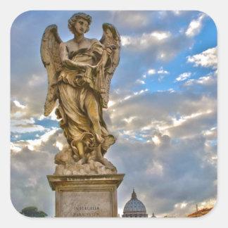ローマの彫像 スクエアシール