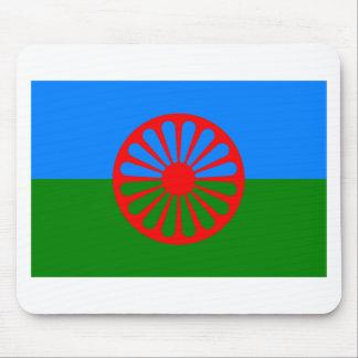 ローマの旗(ジプシーの旗) マウスパッド