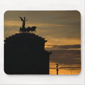 ローマの日没 マウスパッド