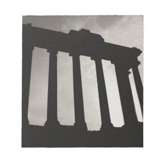 ローマの柱 ノートパッド