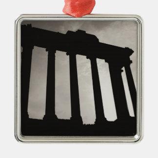 ローマの柱 メタルオーナメント