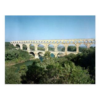 ローマの水路の眺め、造られたc.19紀元前に ポストカード