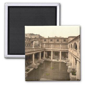 ローマの浴室および大修道院IIのBath、サマセット州、イギリス マグネット