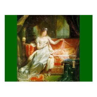ローマの王を持つ皇后Marieルイーズ ポストカード