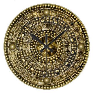 ローマの盾 ラージ壁時計