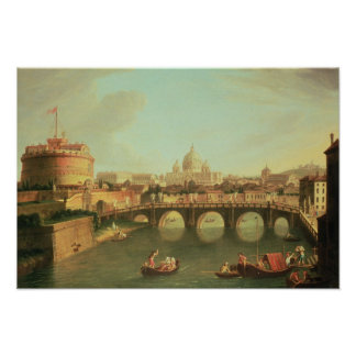 ローマの眺め ポスター
