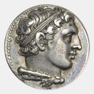 ローマの硬貨 ラウンドシール