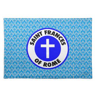ローマの聖者フランシス ランチョンマット