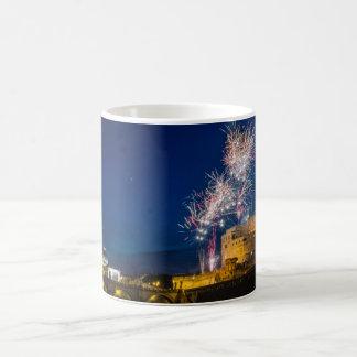 ローマの花火 コーヒーマグカップ