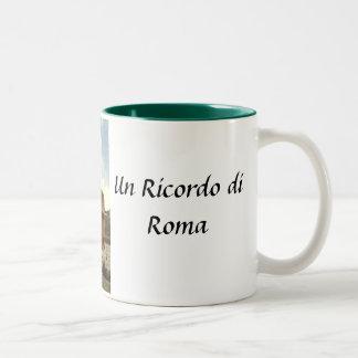 ローマの記念品のマグ ツートーンマグカップ