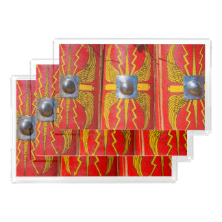 ローマの軍の盾- Scutum アクリルトレー