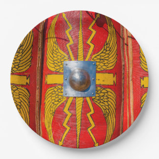 ローマの軍の盾- Scutum ペーパープレート