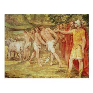 ローマの限界を示すRomulus ポストカード