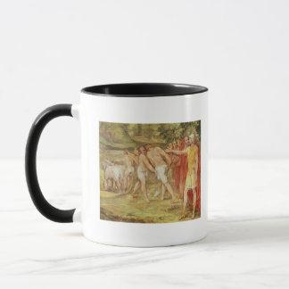 ローマの限界を示すRomulus マグカップ
