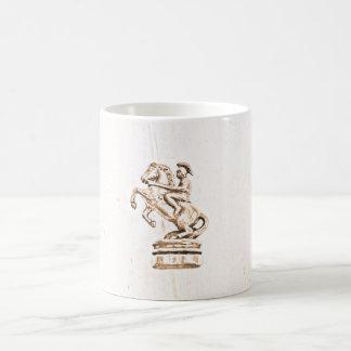 ローマの騎士チェスのマグ コーヒーマグカップ