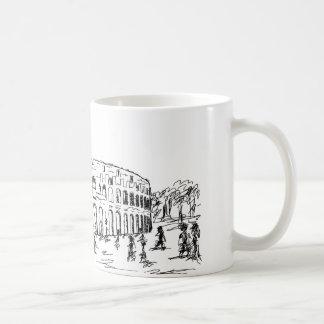 ローマのcolosseum コーヒーマグカップ
