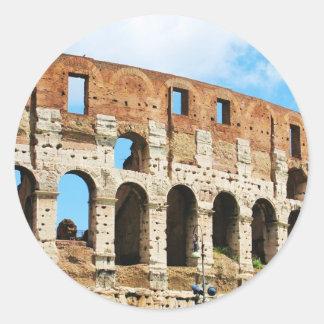 ローマのColosseum ラウンドシール