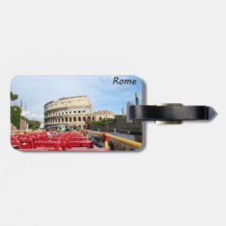 ローマのColosseum ラゲッジタグ