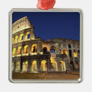 ローマのColosseum、ローマ、イタリア2 メタルオーナメント