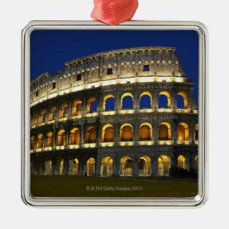 ローマのColosseum、ローマ、イタリア3 メタルオーナメント