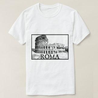 ローマのcolosseum tシャツ