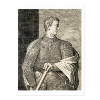 ローマのGaiusシーザー「Caligula」(12-41広告)皇帝 ポストカード