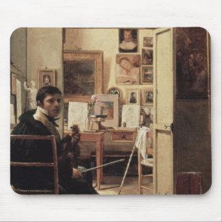 ローマのIngres、1818年のスタジオ マウスパッド