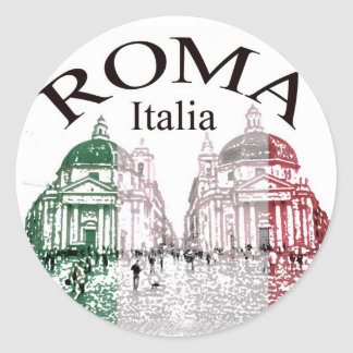 ローマは押しました ラウンドシール
