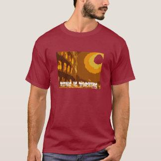 ローマは燃えています Tシャツ